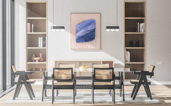 Kitchen Kyanite Background Textures Modern Poster Preview