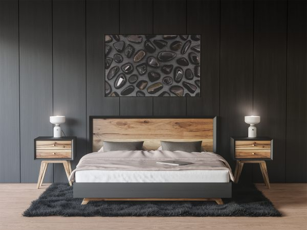 Bedroom Gold Obsidian Background Textures Modern Poster Preview