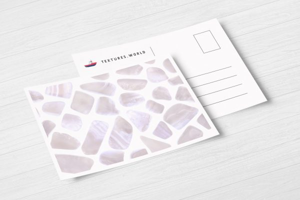 Blue Lace Agate Background Textures Postcard Preview