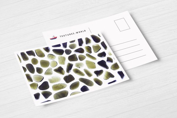 Gold Obsidian Background Textures Postcard Preview