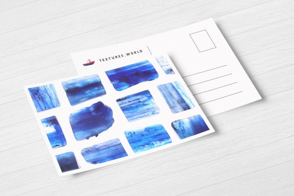 Postcard Kyanite Background Textures Modern Poster Preview