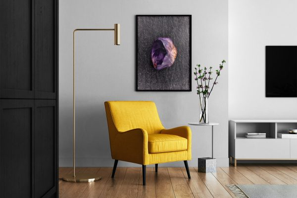 Living Room Rutilated Amethyst Background Textures Modern Poster Preview