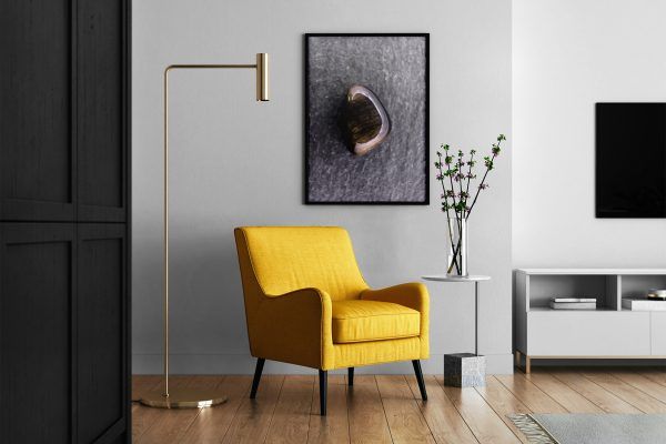 Living Room Gold Obsidian Background Textures Modern Poster Preview