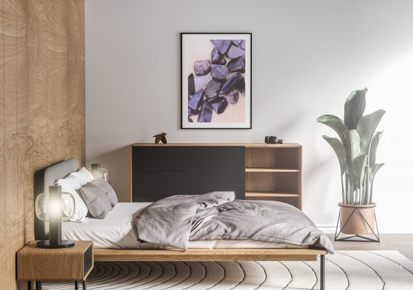 Bedroom Sugilite Background Textures Modern Poster Preview