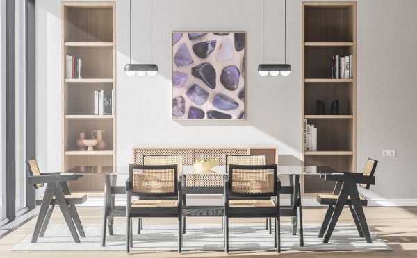 Kitchen & Dining Sugilite Background Textures Modern Poster Preview