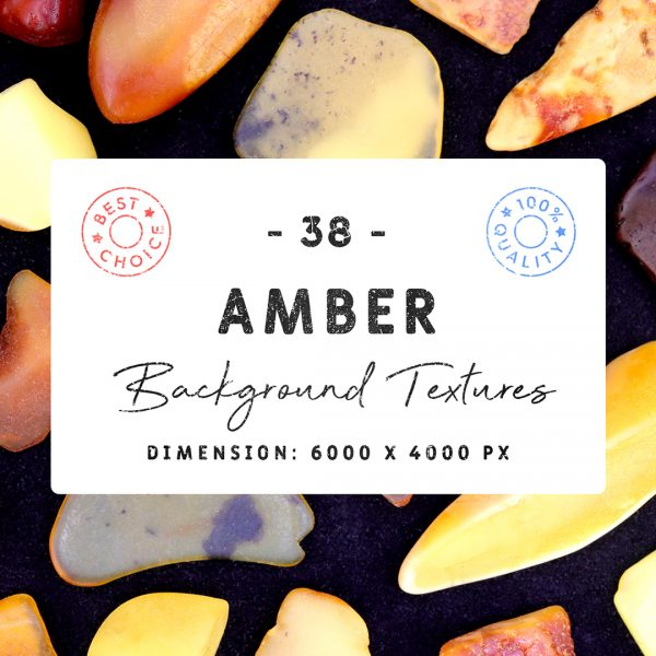 Amber Background Textures Square Cover Preview