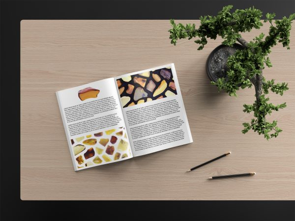 Amber Background Textures Modern Magazine Article Illustrations Preview