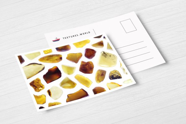 Postcard Amber Background Textures Modern Poster Preview