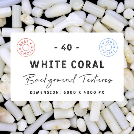 White Coral Background Textures Square Cover Preview