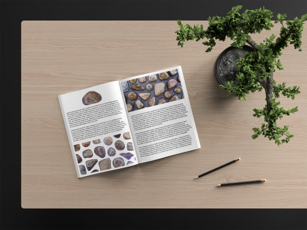 Bronzite Background Textures Modern Magazine Article Illustrations Preview