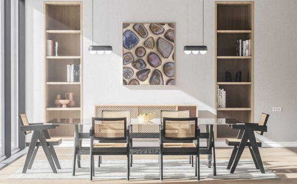 Kitchen & Dining Bronzite Background Textures Modern Poster Preview