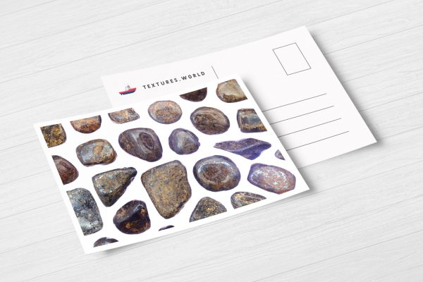 Postcard Bronzite Background Textures Modern Poster Preview