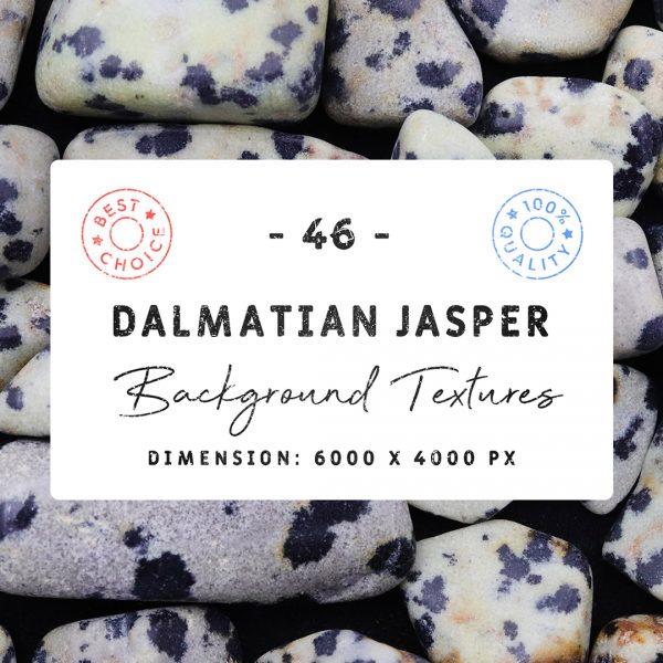 Dalmatian Jasper Background Textures Square Cover Preview
