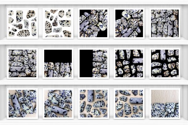 Dalmatian Jasper Background Textures Showcase Shelves Samples Preview