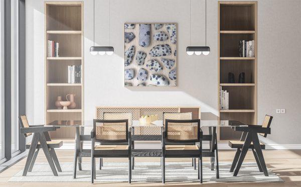 Kitchen & Dining Dalmatian Jasper Background Textures Modern Poster Preview