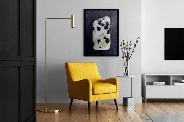 Living Room Dalmatian Jasper Background Textures Modern Poster Preview