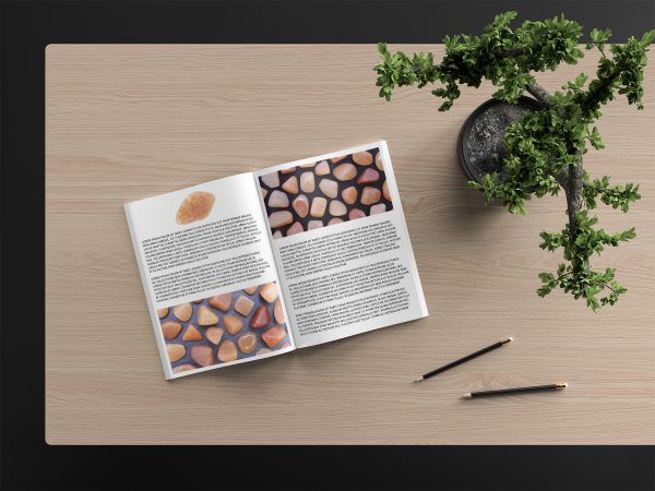 Red Aventurine Background Textures Modern Magazine Article Illustrations Preview