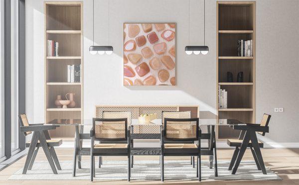 Kitchen & Dining Red Aventurine Background Textures Modern Poster Preview