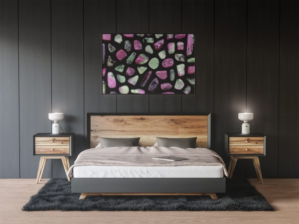 Bedroom Ruby Zoisite Background Textures Modern Poster Preview