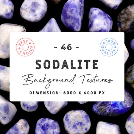 Sodalite Background Textures Square Cover Preview