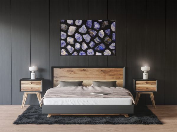 Bedroom Sodalite Background Textures Modern Poster Preview