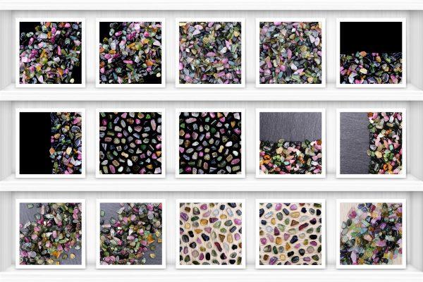 Postcard Tourmaline Background Textures Modern Poster Preview
