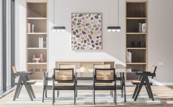 Kitchen & Dining Tourmaline Background Textures Modern Poster Preview