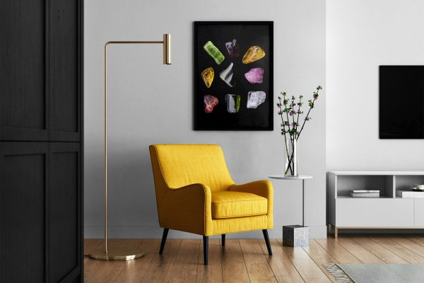 Living Room Tourmaline Background Textures Modern Poster Preview