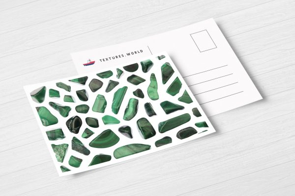 Postcard Malachite Background Textures Modern Poster Preview