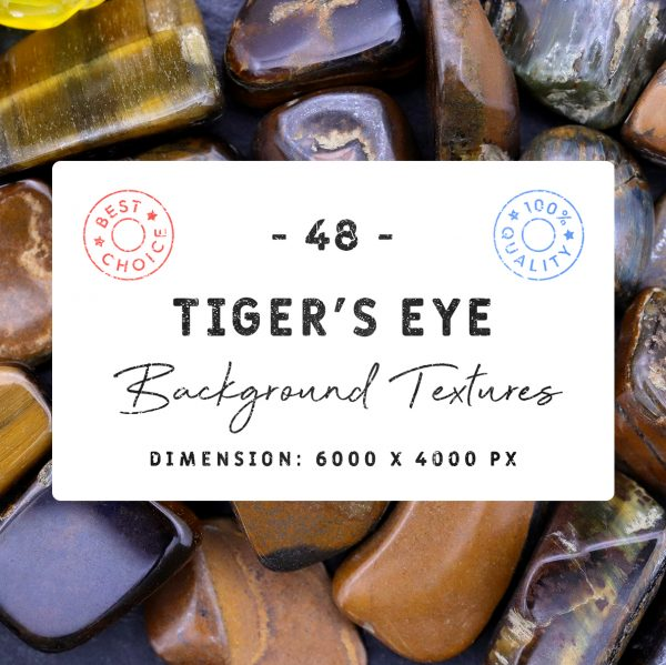 Tiger's Eye Background Textures Square Cover Preview