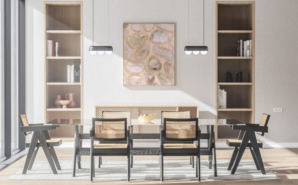 Kitchen & Dining Rutilated Quartz Background Textures Modern Poster Preview