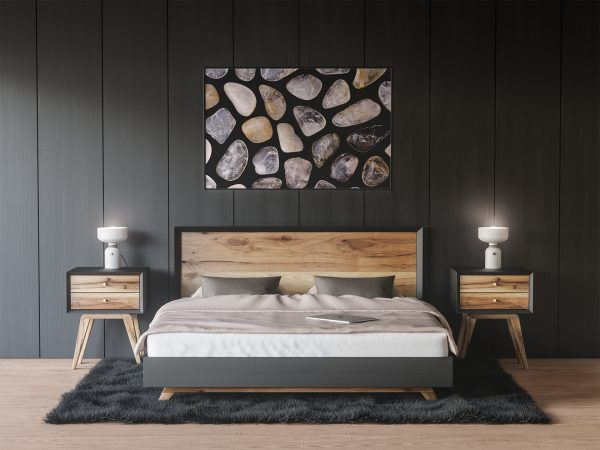 Bedroom Rutilated Quartz Background Textures Modern Poster Preview