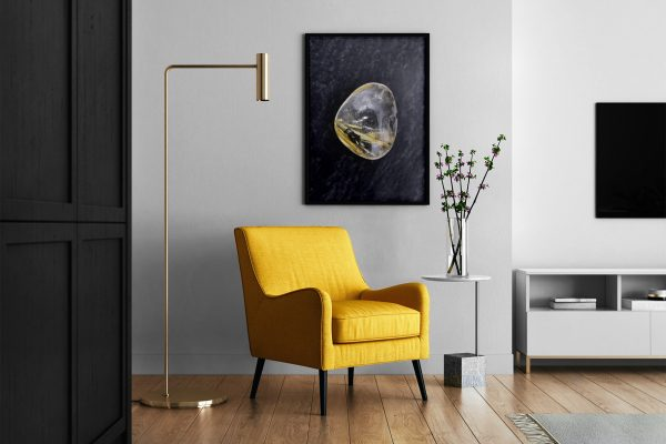 Living Room Rutilated Quartz Background Textures Modern Poster Preview