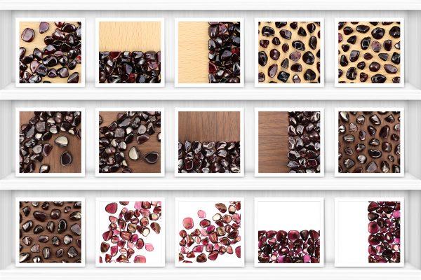 Garnet Background Textures Showcase Shelves Samples Preview