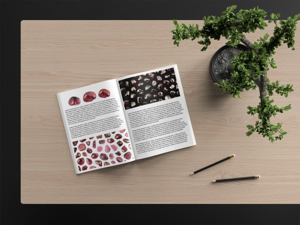 Garnet Background Textures Modern Magazine Article Illustrations Preview