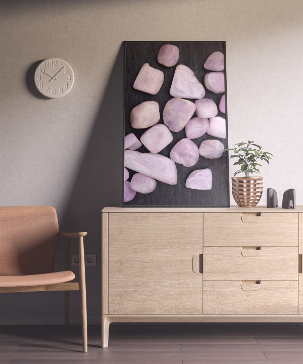 Entryway Morganite Background Textures Modern Poster Preview