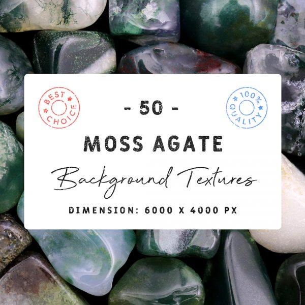 Moss Agate Background Textures Square Cover Preview