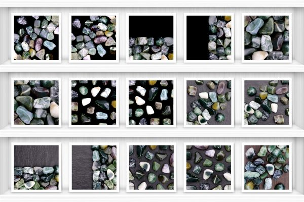 Moss Agate Background Textures Showcase Shelves Samples Preview