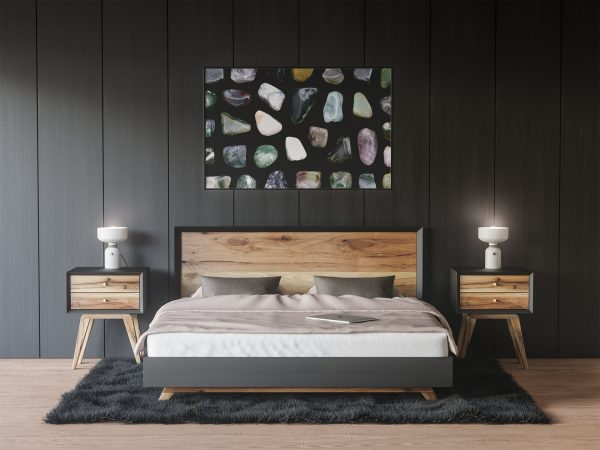 Bedroom Moss Agate Background Textures Modern Poster Preview