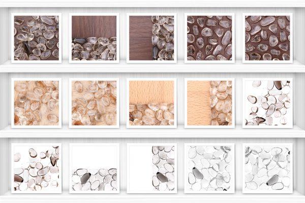 Smoky Quartz Background Textures Showcase Shelves Samples Preview