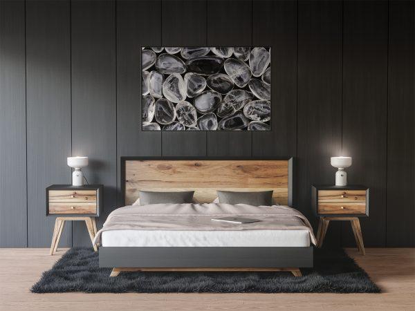 Bedroom Smoky Quartz Background Textures Modern Poster Preview