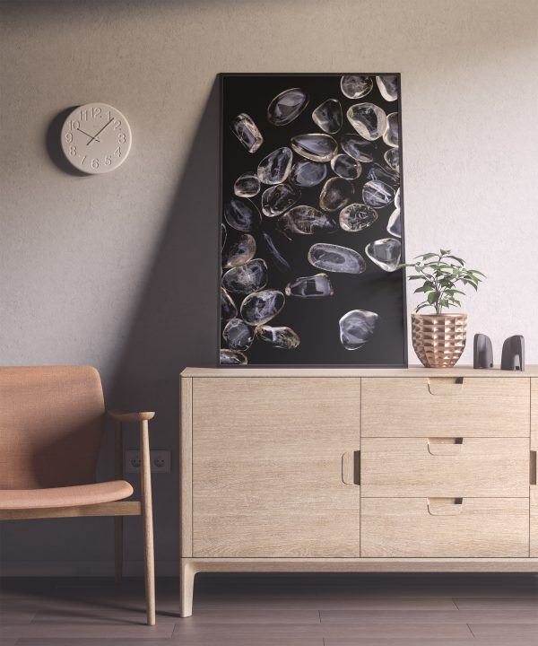 Entryway Smoky Quartz Background Textures Modern Poster Preview