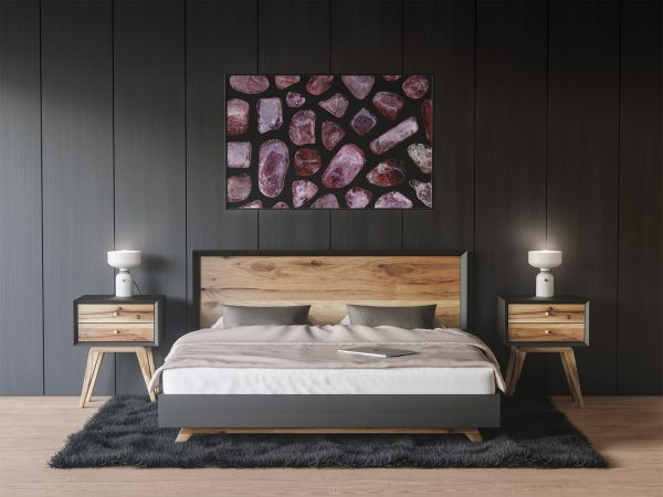 Bedroom Strawberry Quartz Background Textures Modern Poster Preview