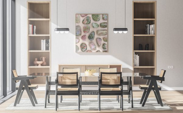 Kitchen & Dining Unakite Background Textures Modern Poster Preview