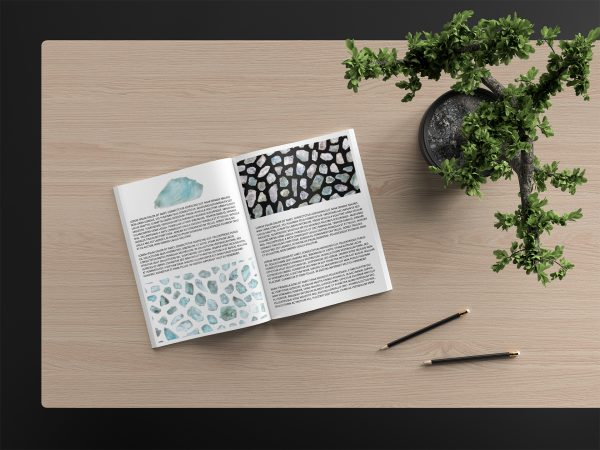Apatite Background Textures Modern Magazine Article Illustrations Preview