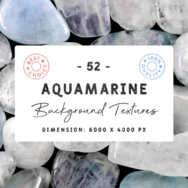 Aquamarine Background Textures Square Cover Preview