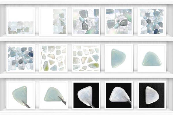 Aquamarine Background Textures Showcase Shelves Samples Preview