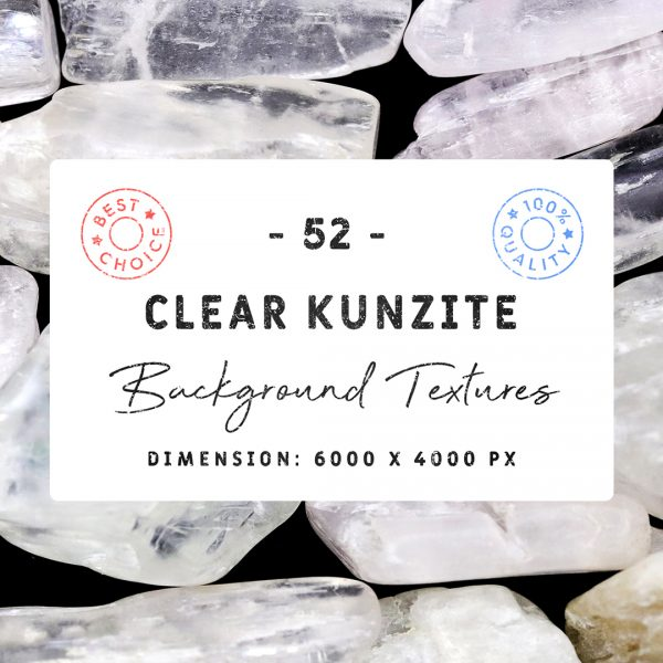 Clear Kunzite Background Textures Square Cover Preview