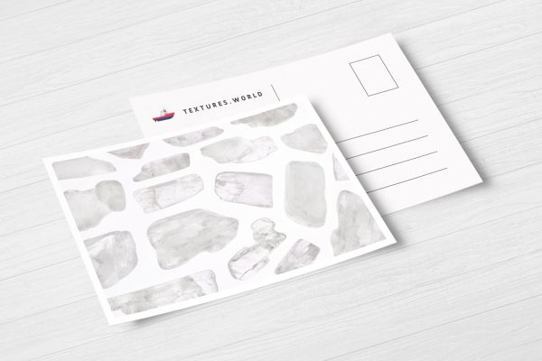 Postcard Clear Kunzite Background Textures Modern Poster Preview