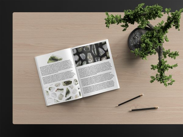 Green Rutilated Background Textures Modern Magazine Article Illustrations Preview